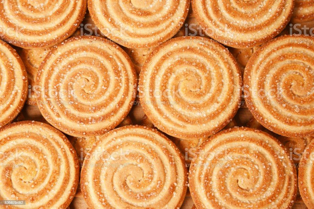 Biscoitos açucarados - foto de acervo