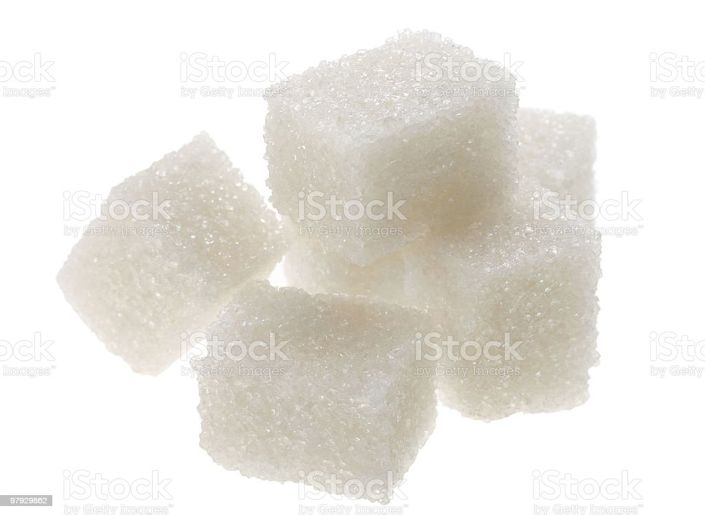 Sugar cube royalty-free stock photo