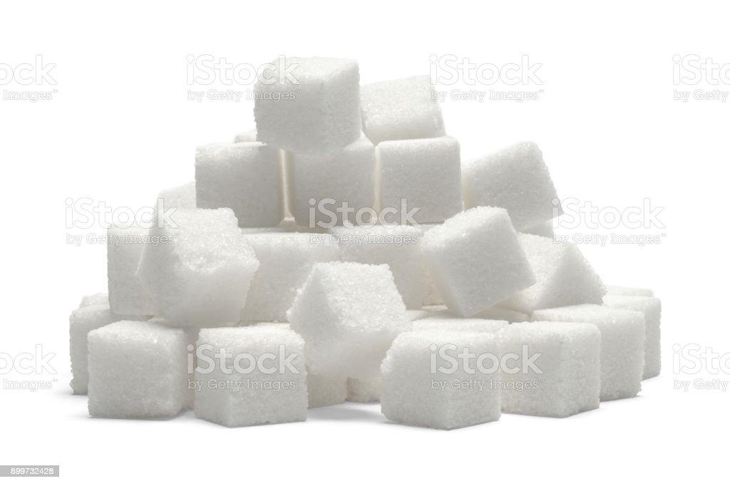 Sugar Cube Pile stock photo
