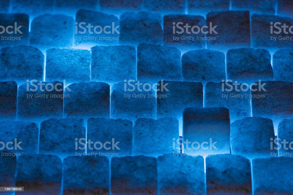 Sugar Cube Wall royalty-free stock photo