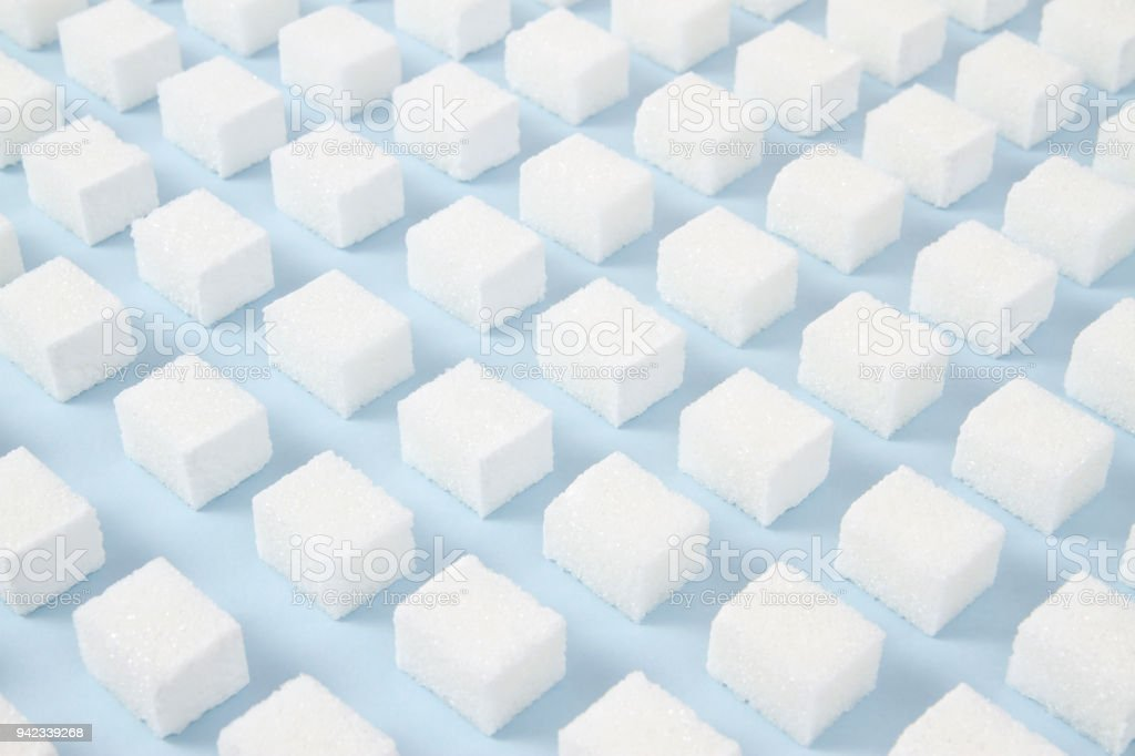 Sugar Cubes Pattern royalty-free stock photo