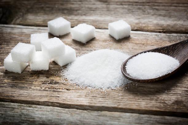 sugar cubes - zuccherificio foto e immagini stock