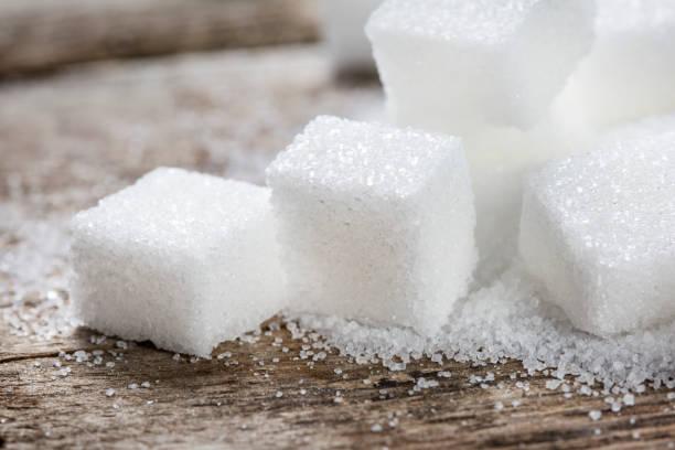 슈가 큐브 - 설탕 뉴스 사진 이미지
