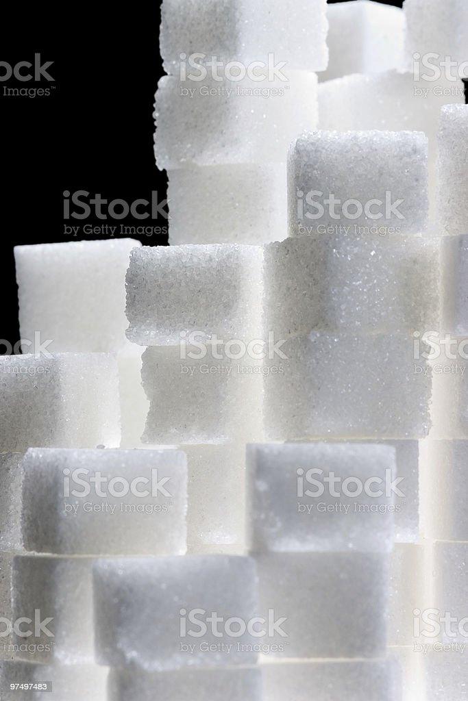 sugar cubes royalty-free stock photo