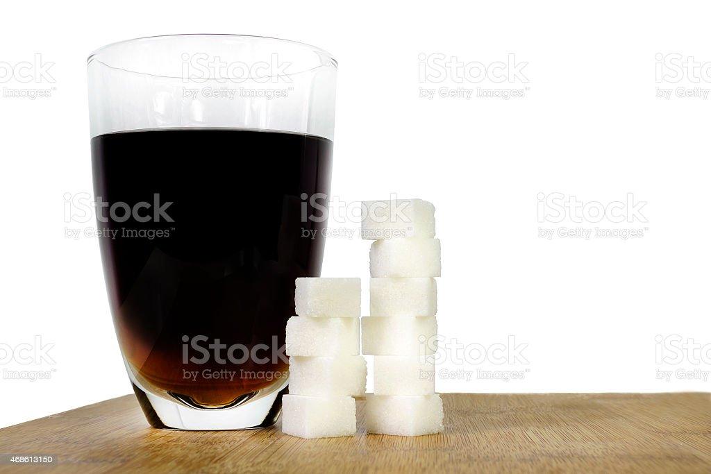 Bebida de azúcar - foto de stock