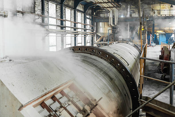 fabbrica di zucchero - zuccherificio foto e immagini stock