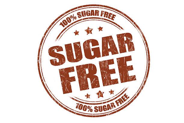 sugar kostenlos - zuckerfreie lebensmittel stock-fotos und bilder