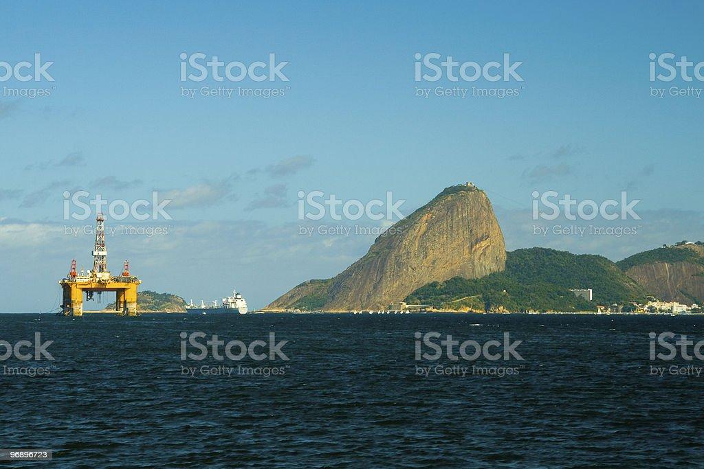 Sugar Loaf in Rio de Janeiro royalty-free stock photo