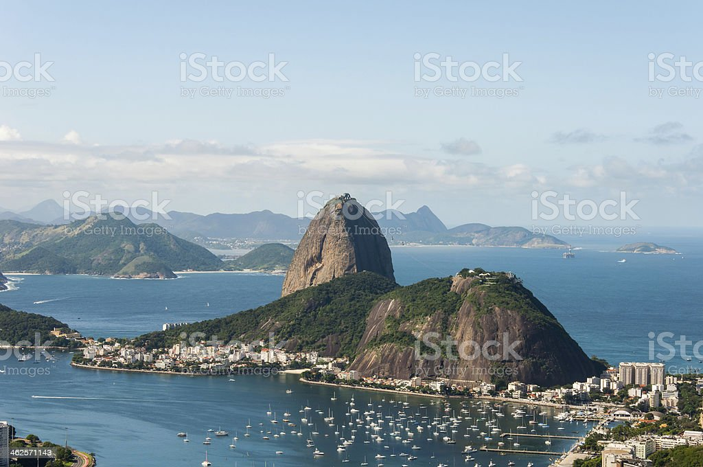 Sugar Loaf Mountain stock photo