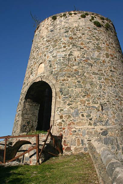 Sugar Mill Silo stock photo