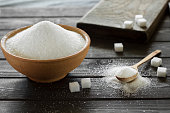 istock Sugar on the kitchen table. 1256523777