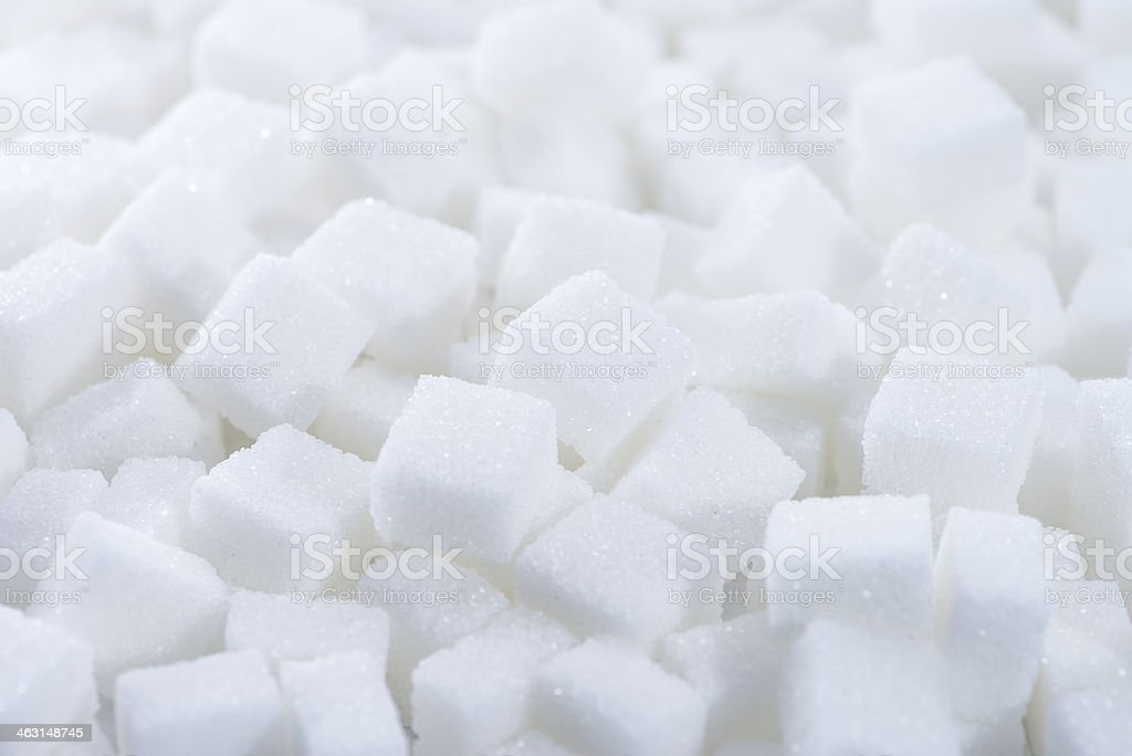 Sugar (background image) stock photo