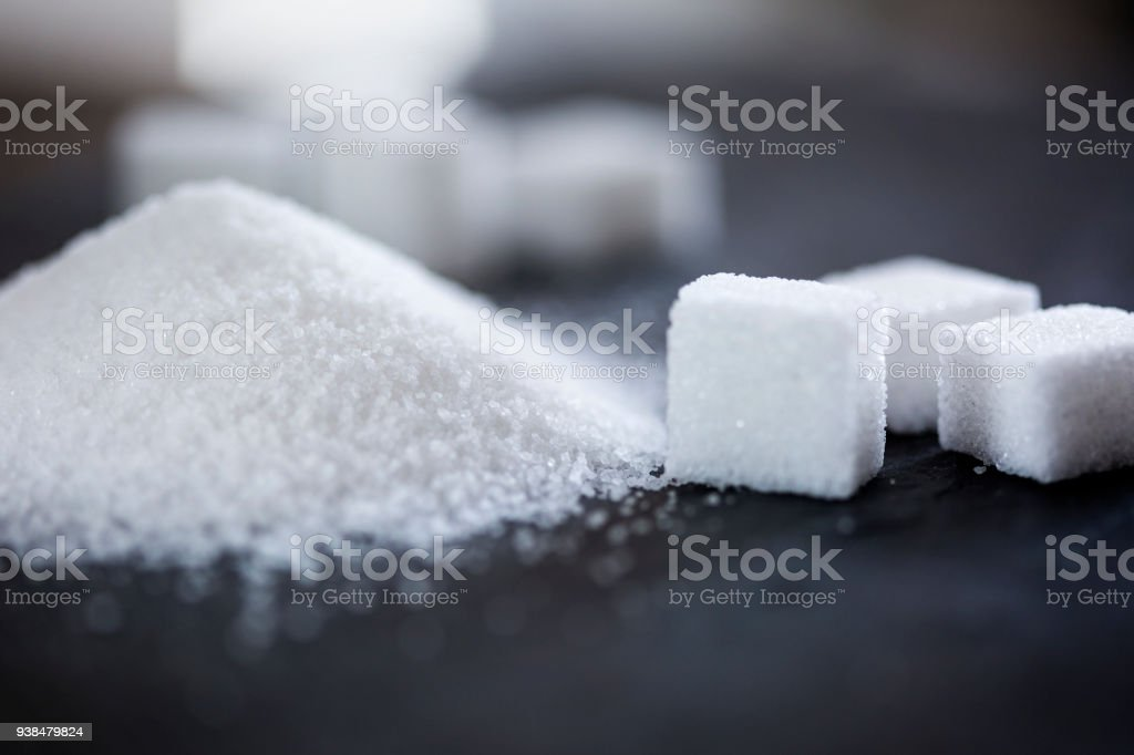 Sugar royalty-free stock photo