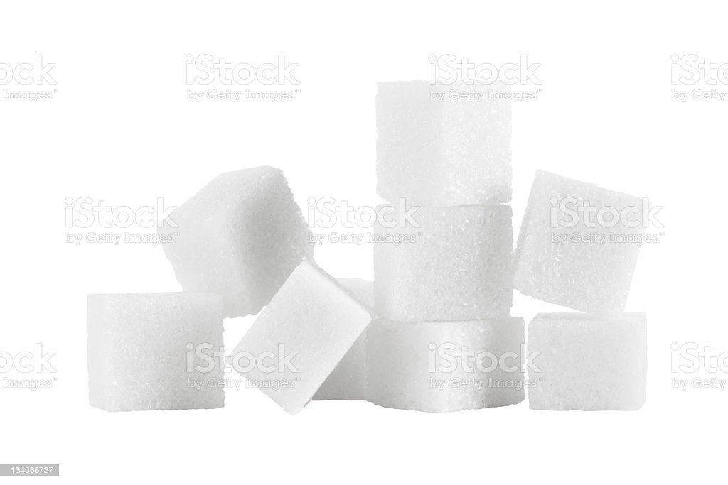 sugar pile stock photo