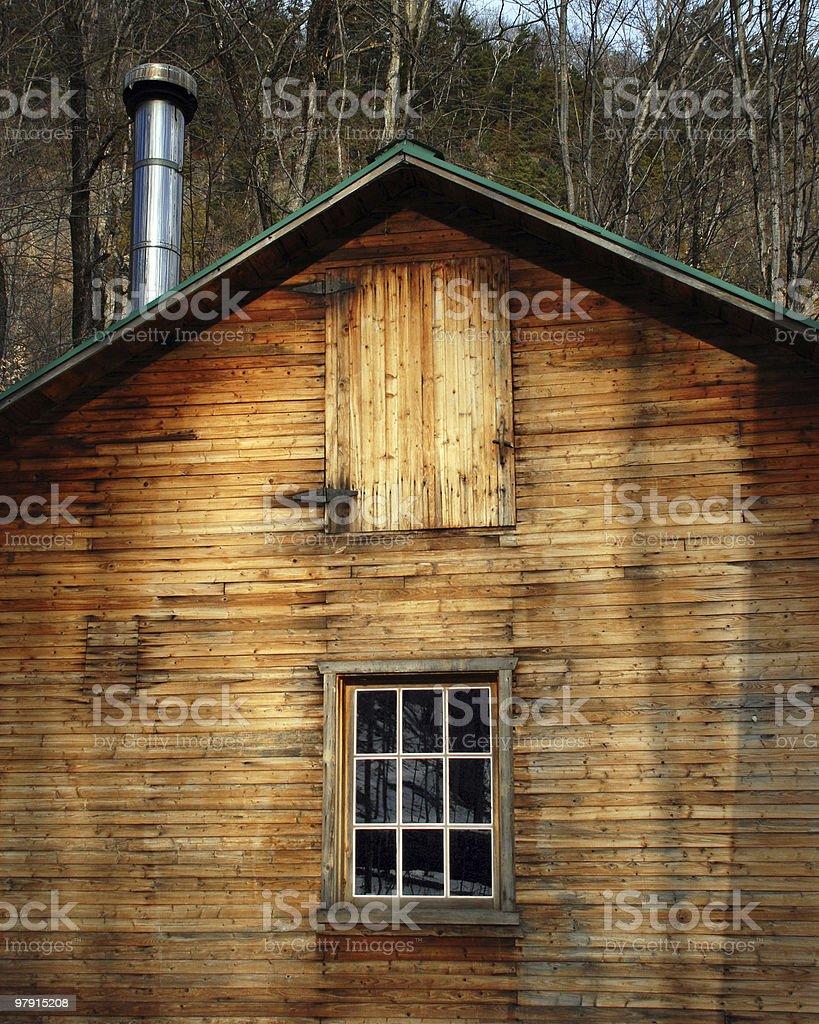 Sugar shack royalty-free stock photo