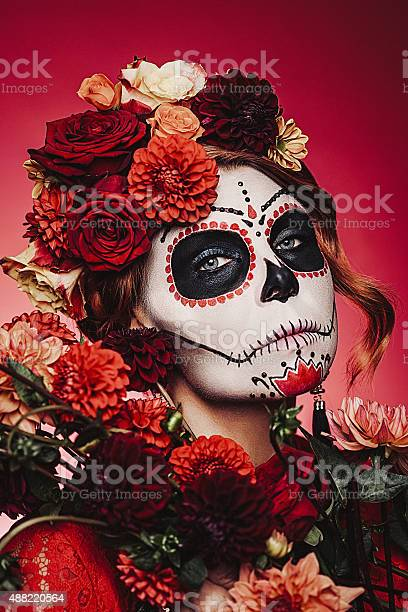 Sugar skull creative make up for halloween picture id488220564?b=1&k=6&m=488220564&s=612x612&h=snjk5jauhmzhyb2gp7pi9g627vmvoqdwpz4tuj9x33c=