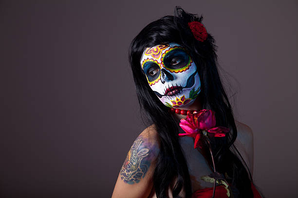 Sugar skull girl with red rose picture id139606120?b=1&k=6&m=139606120&s=612x612&w=0&h=sbj1qffxxx3m g2gilewocab0y3 ncybrc v 1ns6fe=