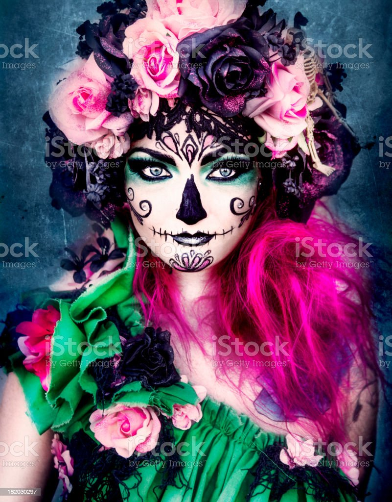 Sugar Skull stock photo
