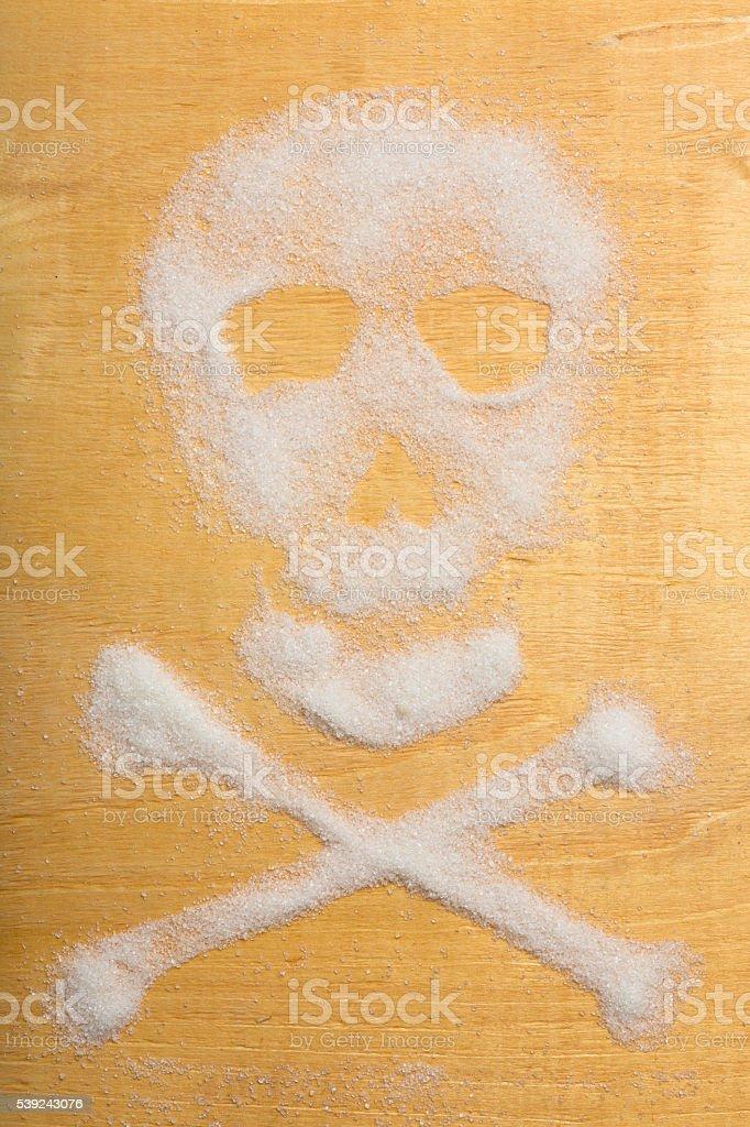 Azúcar cráneo foto de stock libre de derechos
