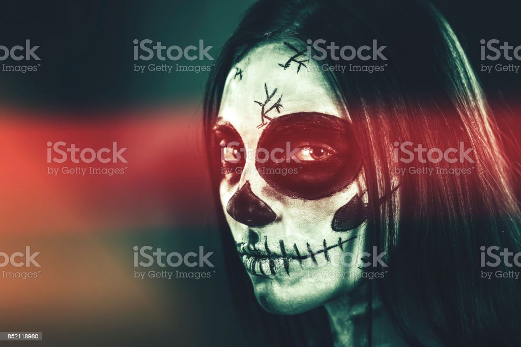 Sugar Skull stock photo
