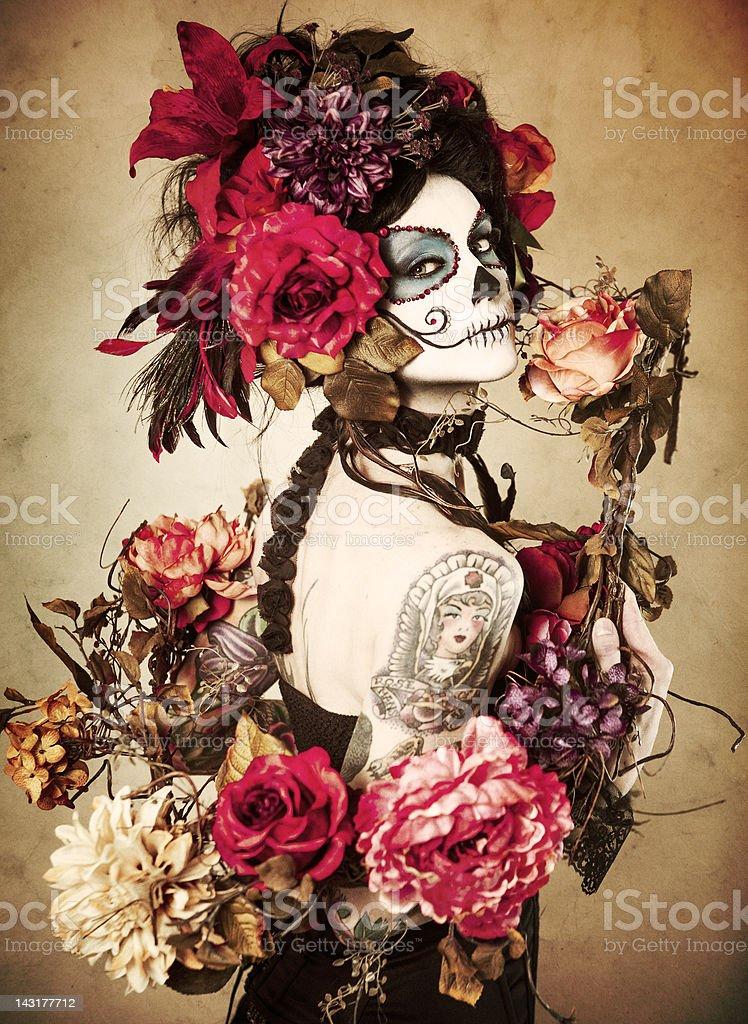 Sugar Skull Series: Día de los Muertos stock photo