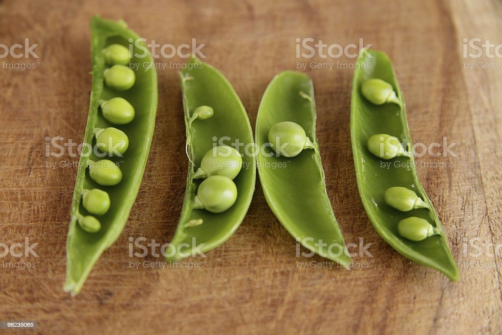Sugar Snap Peas royalty-free stock photo