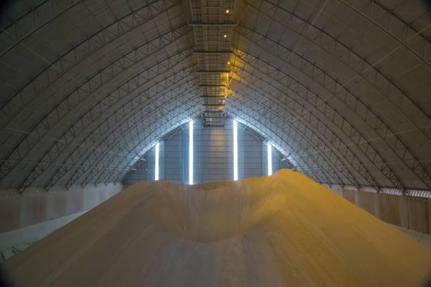 sugar storange industry factory - zuccherificio foto e immagini stock