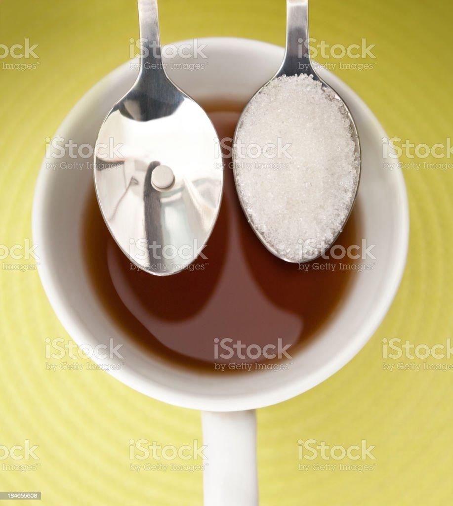 Sugar substitutes stock photo