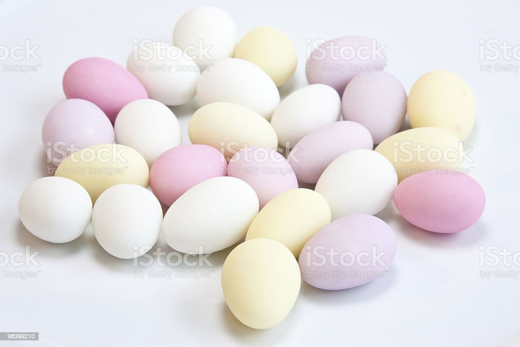 Sugared Almonds - Royalty-free Almond Stock Photo