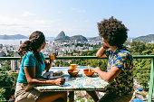 istock Sugarloaf Mountain breakfast view, Rio de Janeiro, 1176126791