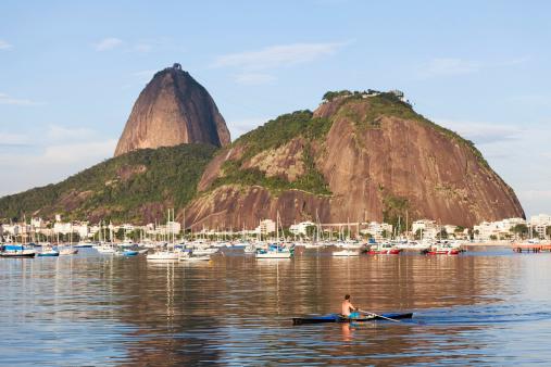 Sugarloaf Mountain from Botafogo Bay, Rio de Janeiro