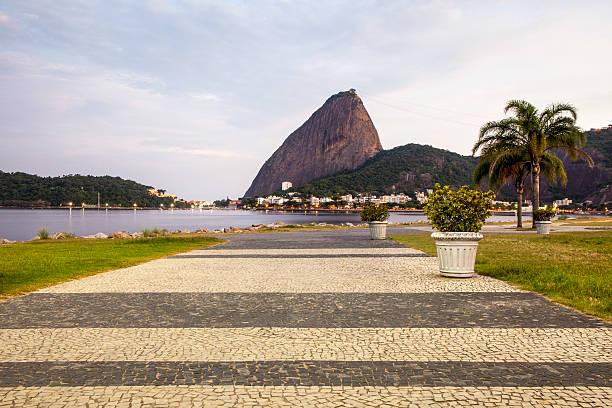 Sugarloaf Mountain from Flamengo Park, Rio de Janeiro – Foto