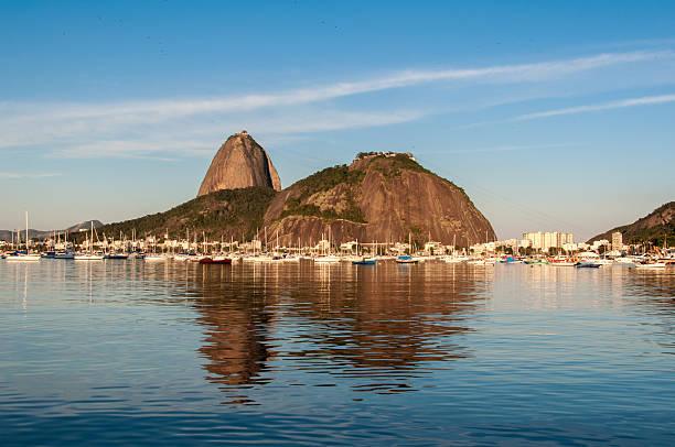 Sugarloaf Mountain in Rio de Janeiro stock photo