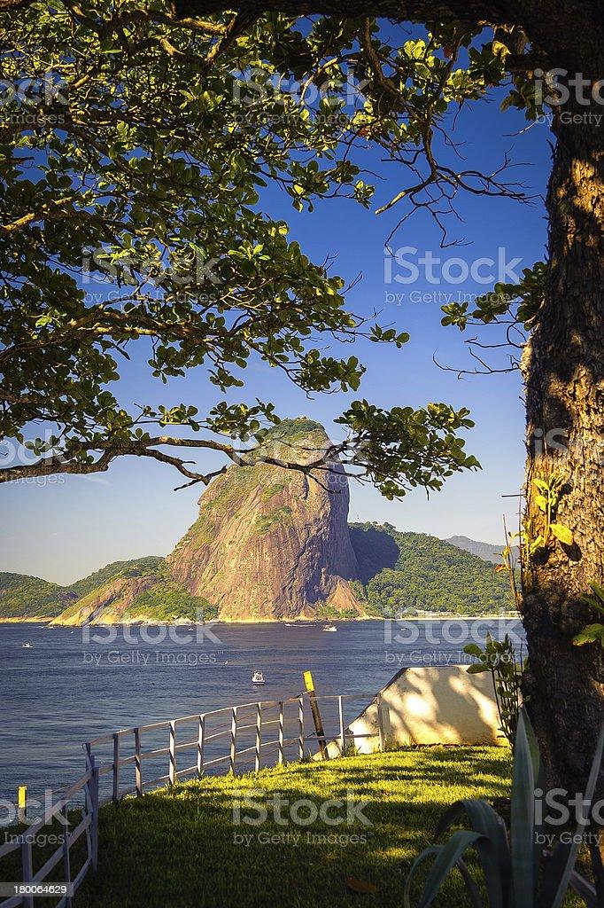 Sugarloaf Mountain royalty-free stock photo