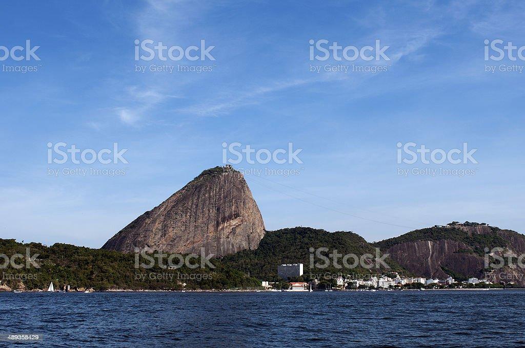 Sugarloaf Mountain, Rio de Janeiro - Brazil royalty-free stock photo