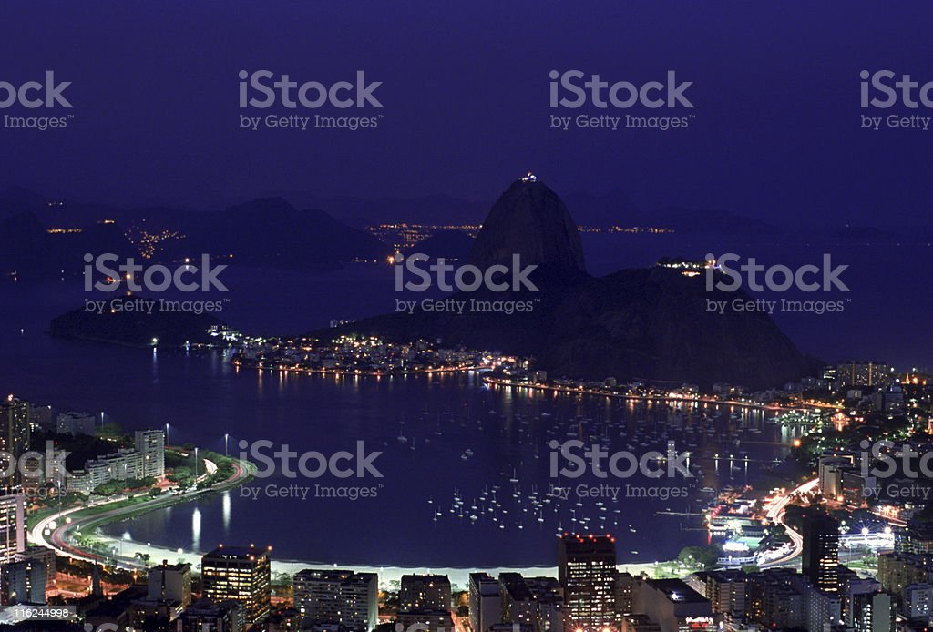 Sugarloaf royalty-free stock photo