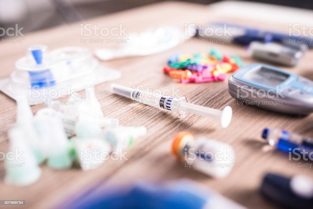 Sugary life stock photo