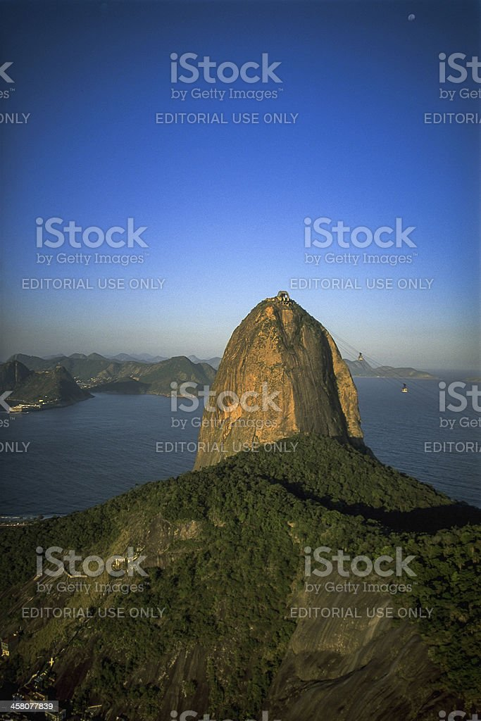 Sugerloaf mountain royalty-free stock photo