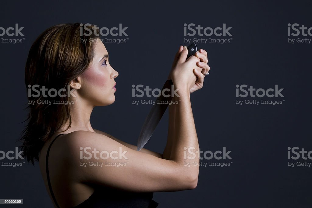 Suicide model royalty-free stock photo