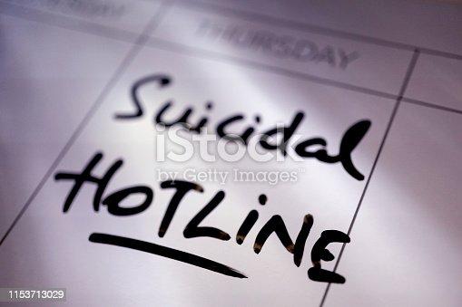 shot of word suicide