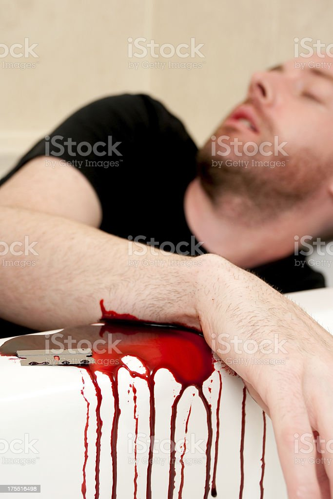 Suicide royalty-free stock photo
