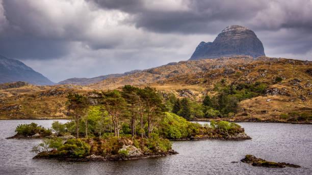 Suilven, a montanha solitária - foto de acervo