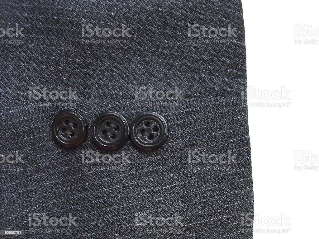 suit  detail royalty-free stock photo