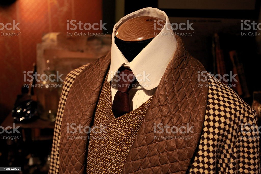Suit fashion stock photo