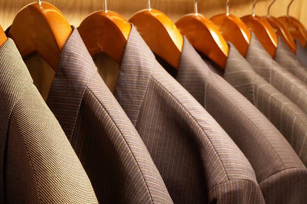 suit jackets stock photo