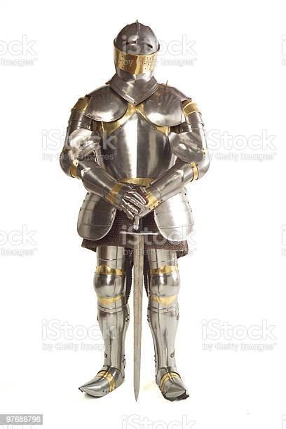 Suit of Armour with sword.