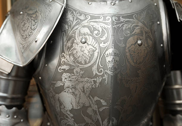 Suit of Armor stock photo