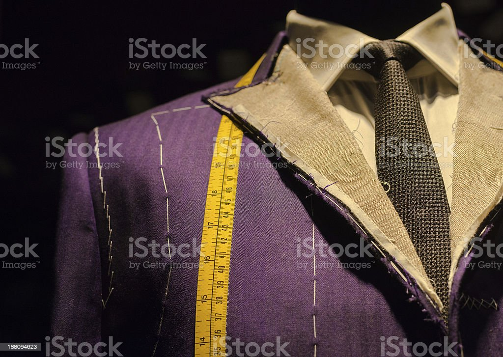Suit on Tailor's Dummy stock photo