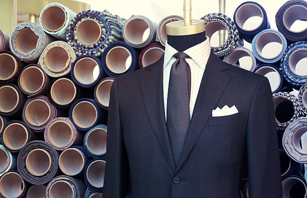 suit on the mannequin stock photo