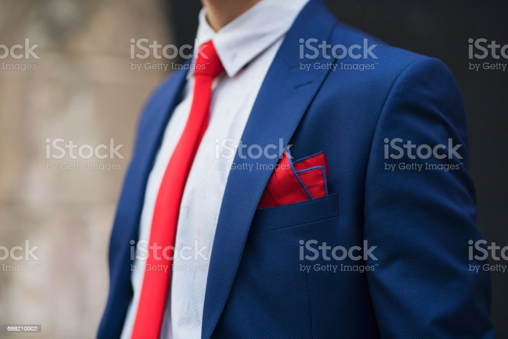 Suit Style stock photo